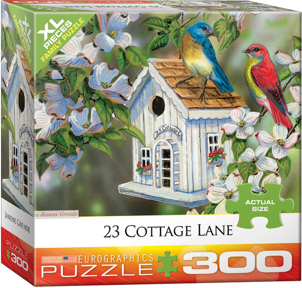 23 Cottage Lane 300-Piece Puzzle