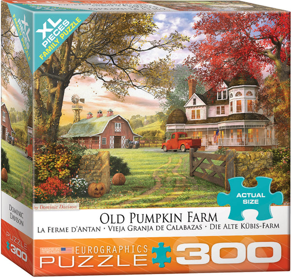 Old Pumpkin Farm 300-Piece Puzzle