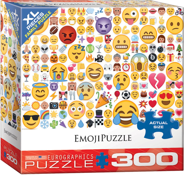 Emojipuzzle What's your Mood? 300-Piece Puzzle