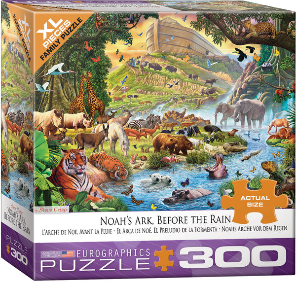 Noah's Ark Before the Rain 300-Piece Puzzle