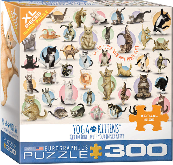 Yoga Kittens 300-Piece Puzzle