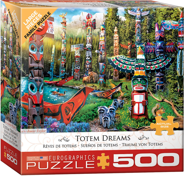 Totem Dream 500-Piece Puzzle