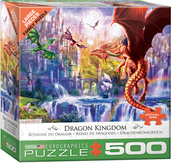 Dragon Kingdom 500-Piece Puzzle