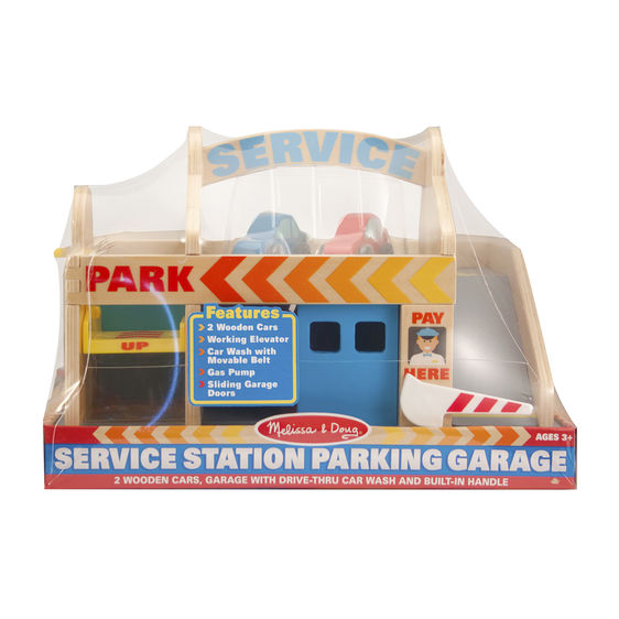 Service Station Parking Garage