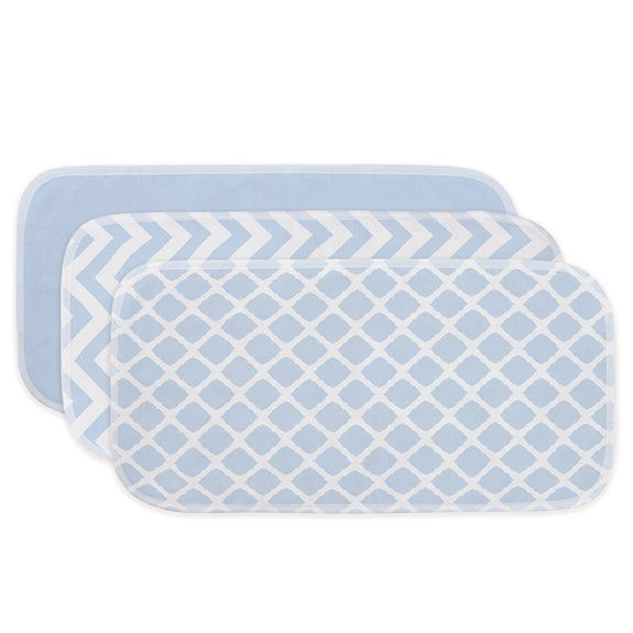 Flannel Burp Pads 3-Pack