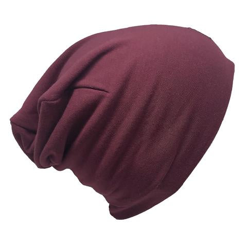 Ultra trendy cotton beanie - Raspberry