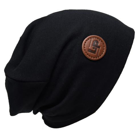 Ultra trendy cotton beanie - Black