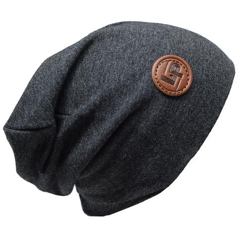 Ultra trendy cotton beanie - Charcoal