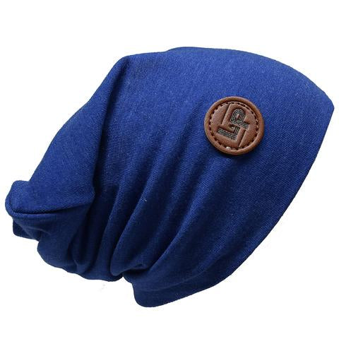 Ultra trendy cotton beanie - Heather blue
