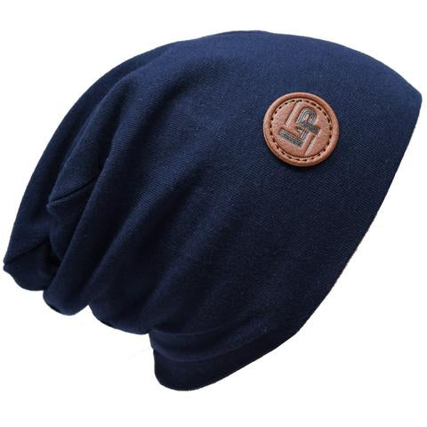 Ultra trendy cotton beanie - Navy