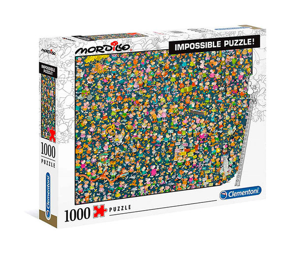 Mordillo Impossible Puzzle - 1000 pcs - High Quality Collection