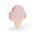 Silicone Teether - Sprinkle Ice Cream Cones