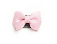 Mini Latch Clip Tiny Tuxedo Grosgrain Bow