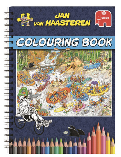 Jan van Haasteren Colouring Book