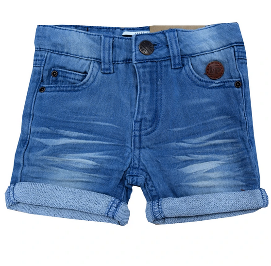 Denim walkshorts (Girly) Clear blue.