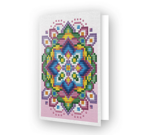 Greeting Card PINK STAR