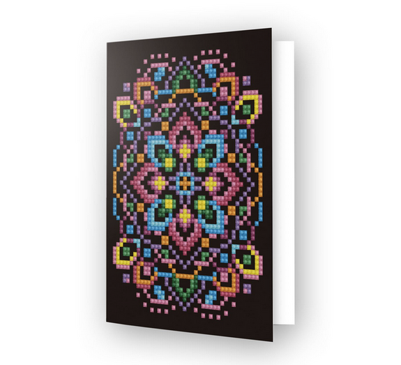 Greeting Card BLACK STAR