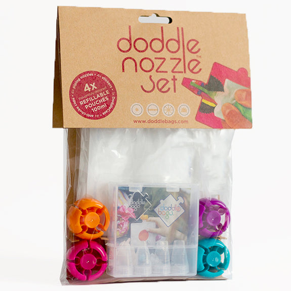 DoddleNozzle Set 4 pack