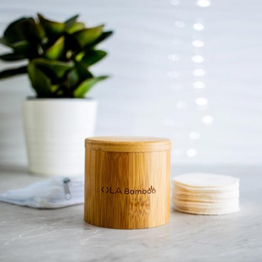 Bamboo Makup remover pads