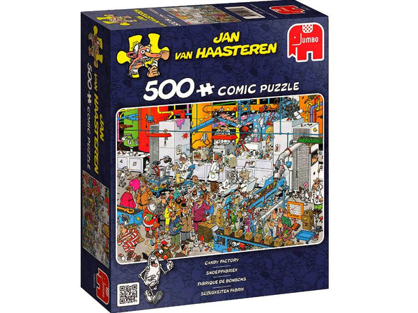 Jan van Haasteren - 500 pcs - Candy Factory