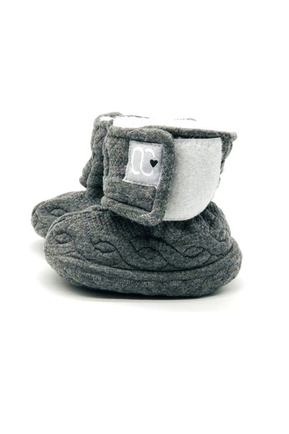 Velcro slippers – Ô Chaud Grey