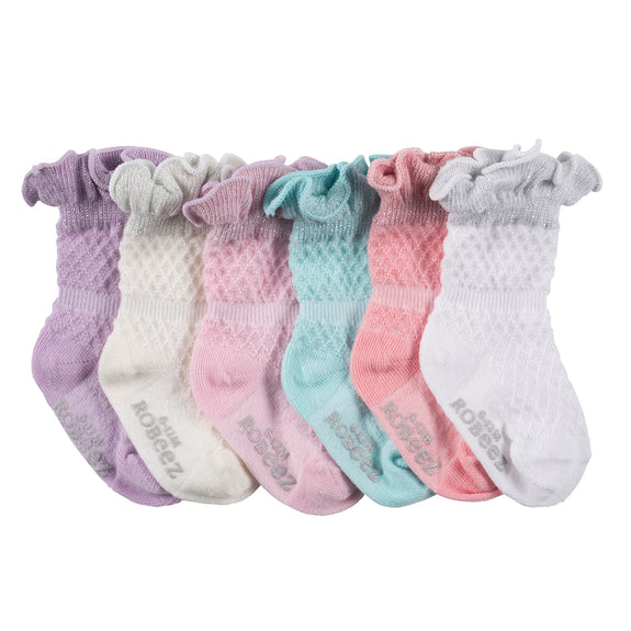 Robeez Socks - Sparkle Multi 6pk