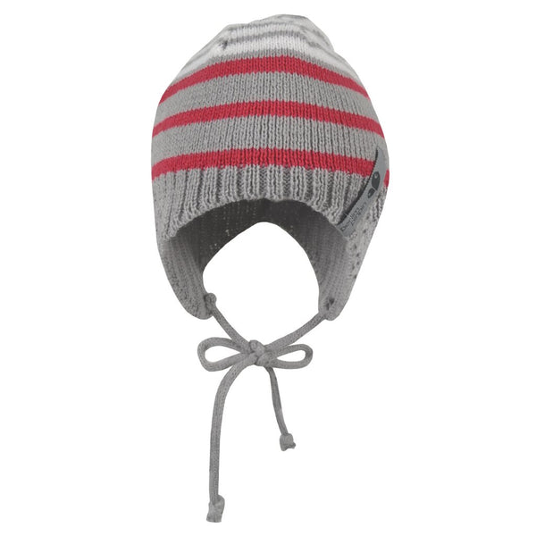 Mid-season knitted acrylic hat - girl