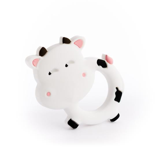 Silicone Teether - Cow