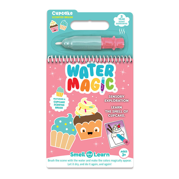 Smell and Learn Water Magic Activity Set Cupcake