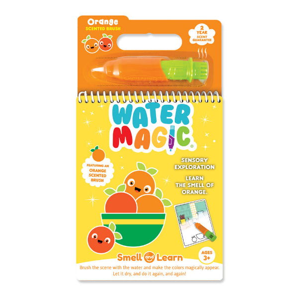 Smell and Learn Water Magic Activity Set Orange