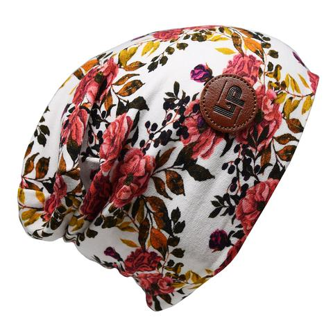Ultra trendy cotton beanie - Newcastle Flower