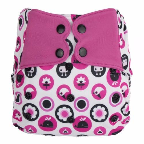 Elf Pocket Diaper OS - Pinky