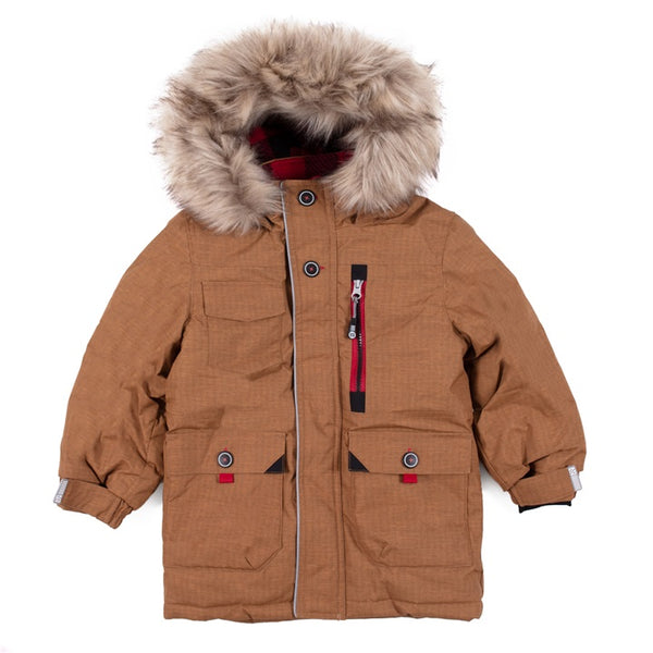 Parka jacket - F20M1301 - Taupe