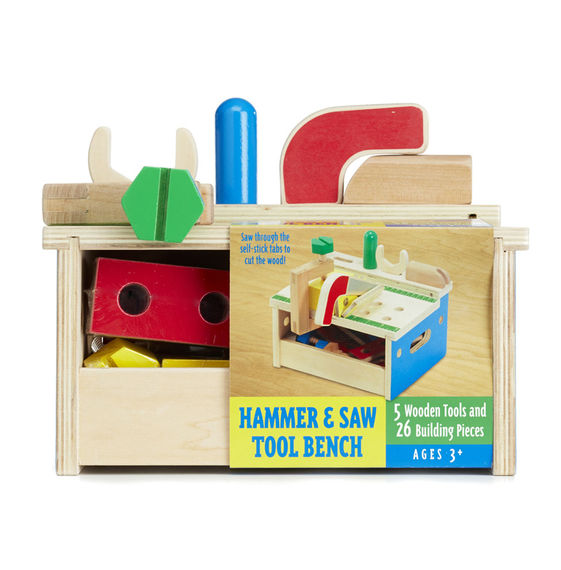 Hammer and Saw Tool Bench