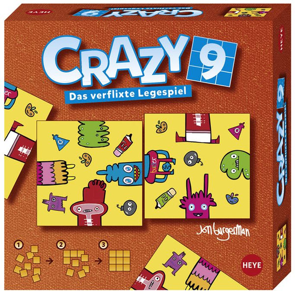 Crazy 9 Burgerman Doddles Puzzles