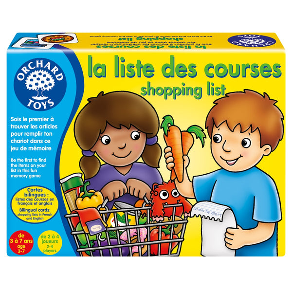 La Liste Des Courses (Shopping List) (Bilingual)