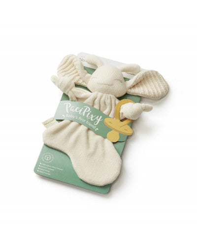 Natursutten Paci Pixy – Organic Cotton Soother Holder/Comfort Toy