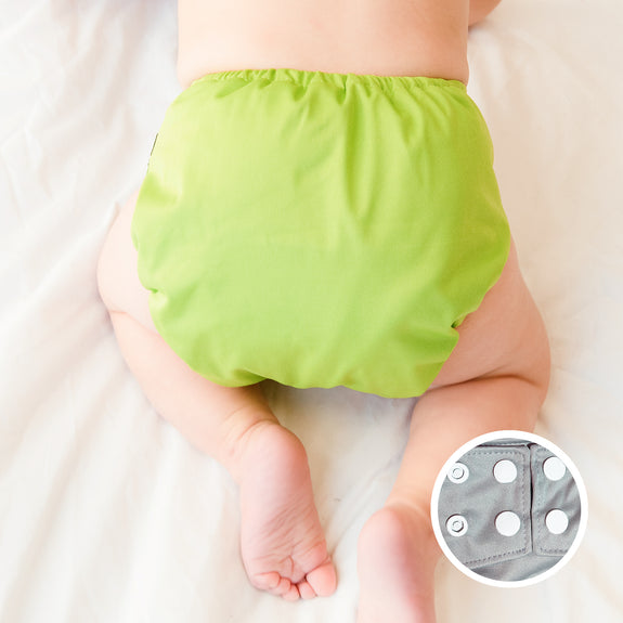 LPO Pocket Diaper OS (Snap) - Apple