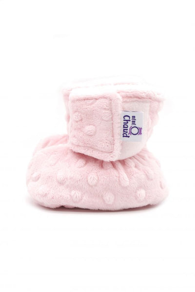 Velcro slippers – Pink