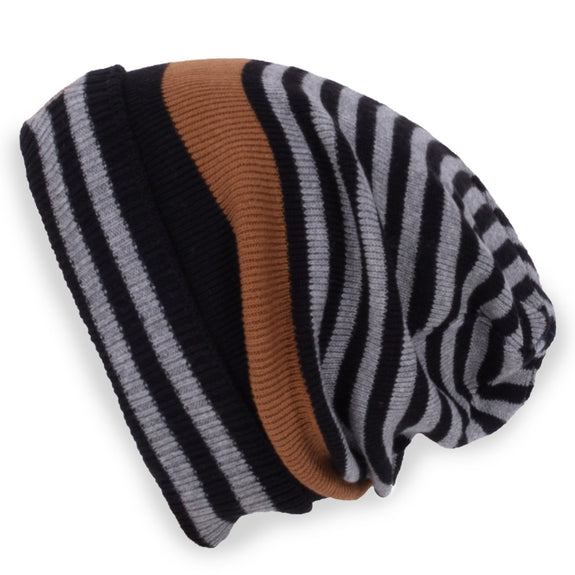 Striped Knit hat
