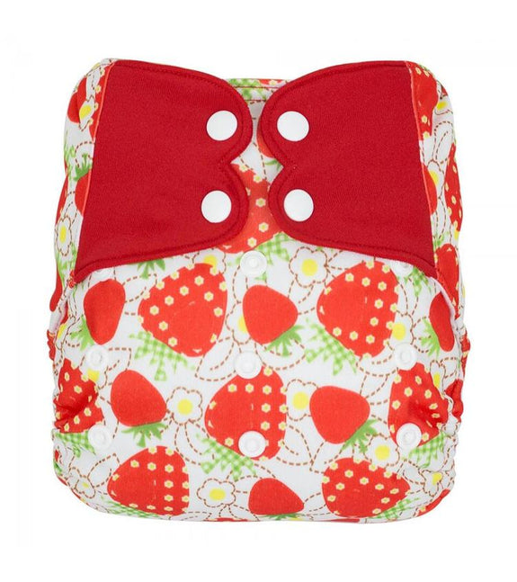 Elf Pocket Diaper OS - Strawberry
