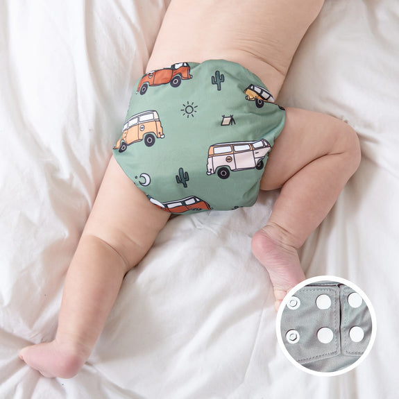 LPO Pocket Diaper OS (Snap) - Time off