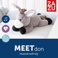 ZAZU – Don – Plush Toy with Heartbeat Sound