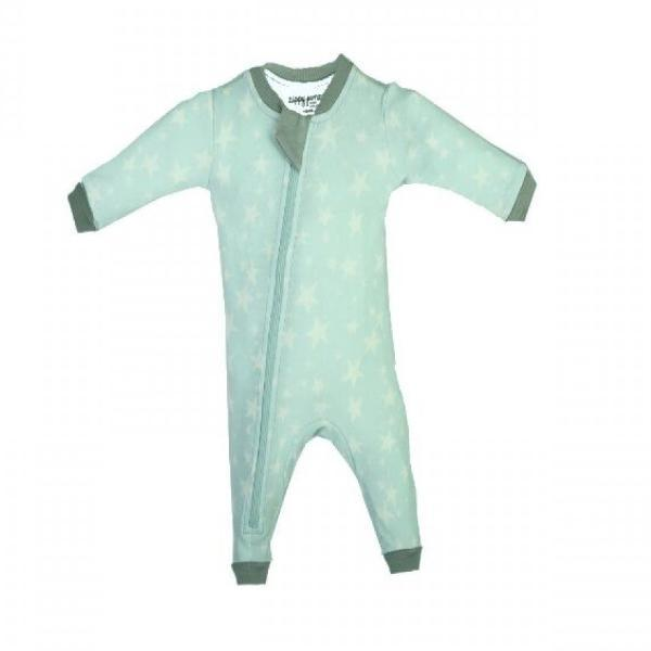 Organic Cotton Footless Sleeper - Slumber Star - Teal
