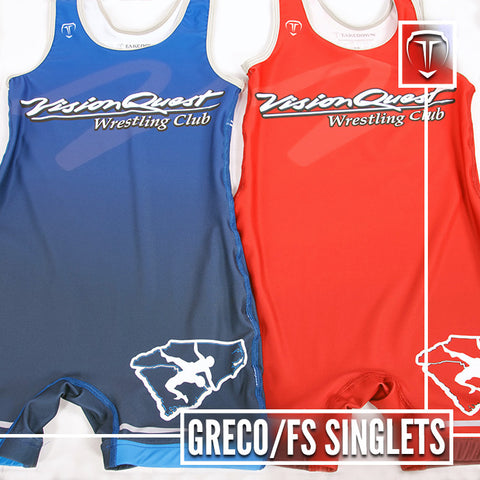 Greco Freestyle Singlets