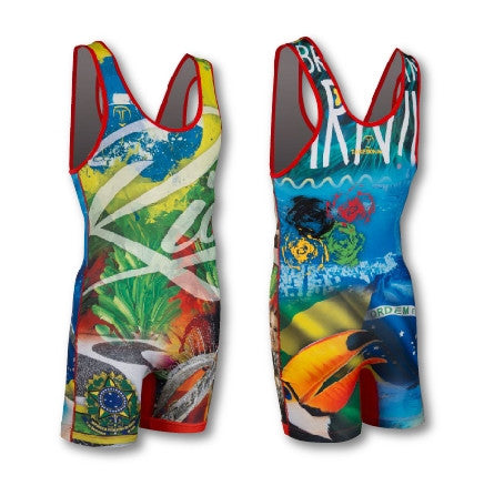RIO WRESTLING SINGLET (MADE TO ORDER)