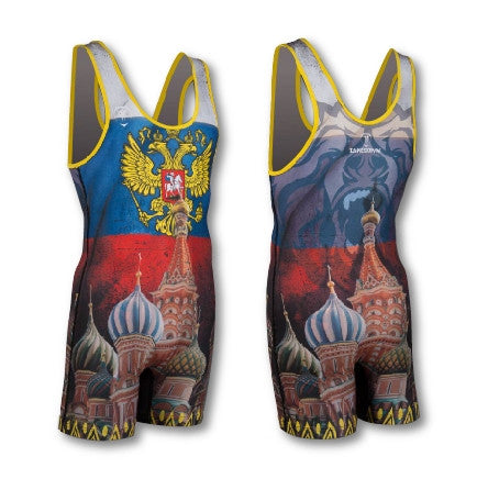 RUSSIA WRESTLING SINGLET (MADE TO ORDER)