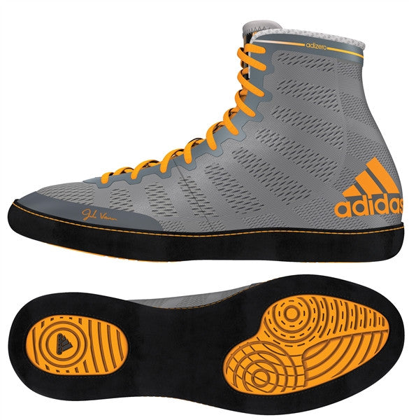 ADIDAS ADIZERO VARNER WRESTLING SHOES - GREY
