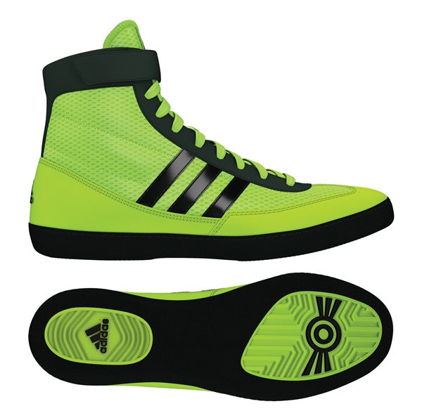 ADIDAS COMBAT SPEED 4 WRESTLING SHOES - YELLOW