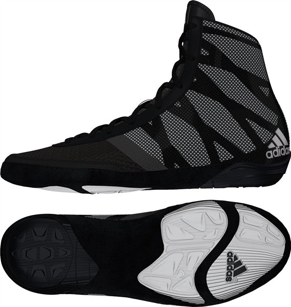 ADIDAS PRETEREO III WRESTLING SHOES - BLACK